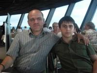 Cu tata in Skyline Mannheim